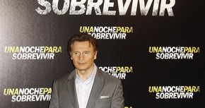 Liam Neeson presenta en Madrid 'Una noche para sobrevivir'