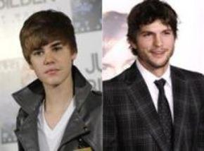 Justin Bieber, el mini-yo de Ashton Kutcher