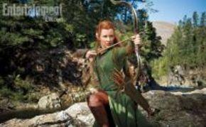 Nueva imagen de Evangeline Lilly en 'El Hobbit'