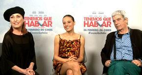 Michelle Jenner y Hugo Silva, de nuevo juntos en la comedia 'Tenemos que hablar'