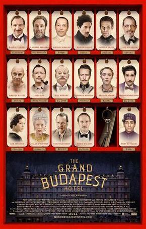 Nuevo póster de 'El Gran Hotel Budapest'