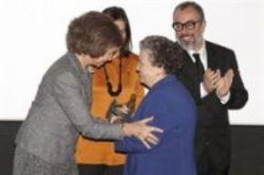 María Galiana recibe el Premio al Cine y los Valores Sociales