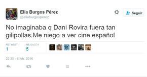 Decenas de usuarios de Twitter insultan y menosprecian a Dani Rovira