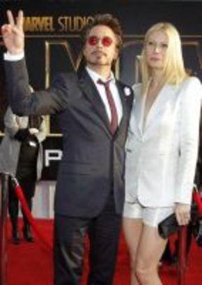 Gwyneth Paltrow pide consejo a Robert Downey Jr. para su papel de alcohólica