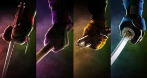 Nuevos posters internacionales de 'Ninja Turtles'