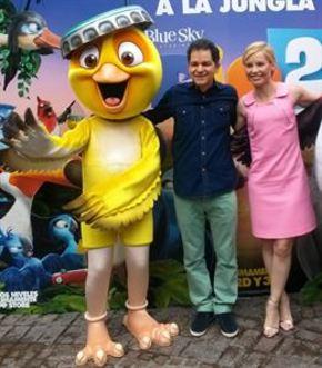 'Rio 2' regresa a los cines con la familia al completo