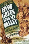 Cartel de ¡Qué verde era mi valle!