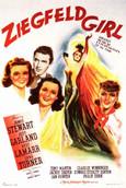 Cartel de Ziegfeld Girl
