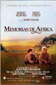 Cartel de Memorias de África