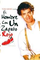 El hombre con un zapato rojo