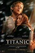 Cartel de Titanic 3D